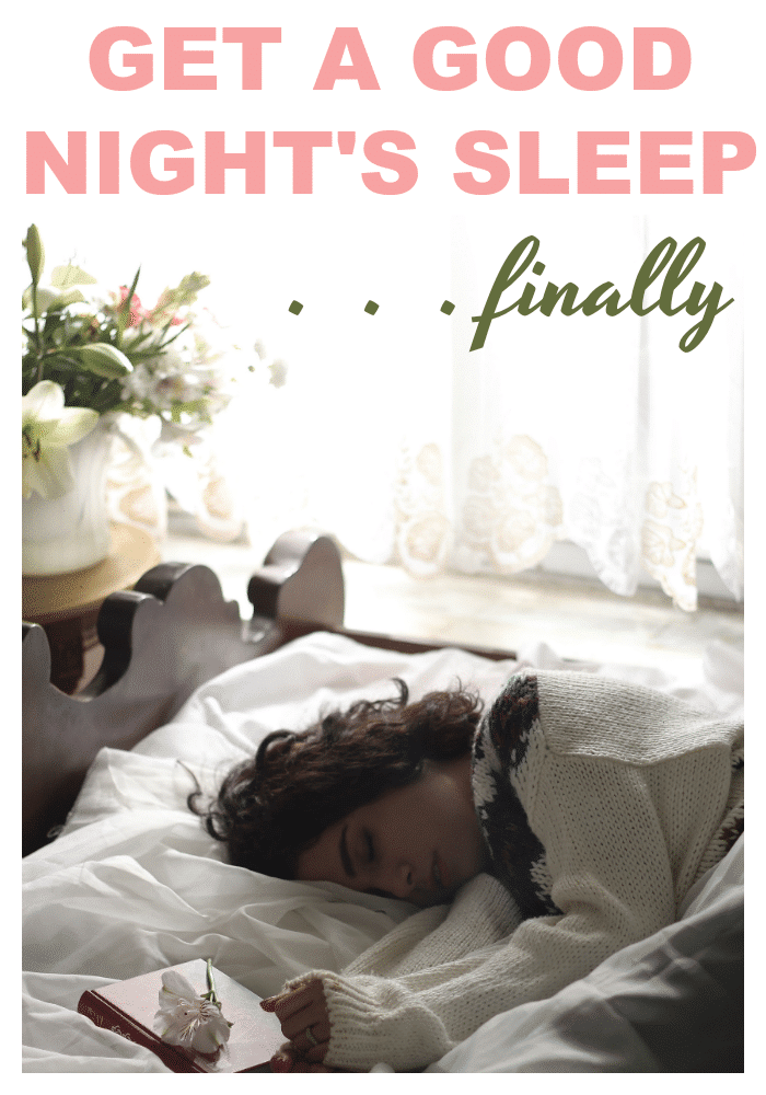 Finally get a good night of sleep with these easy to implement tips. #sleeplog #sleeptips