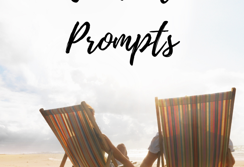 June Journaling Prompts: Great journal prompts to use within your personal and professional journaling journey. These can also be used to engage with your online social media community. #journalprompts