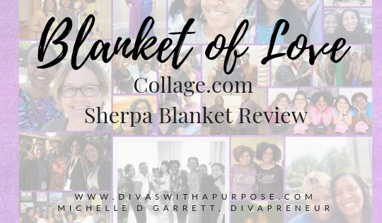 Collage.com Sherpa Blanket Review