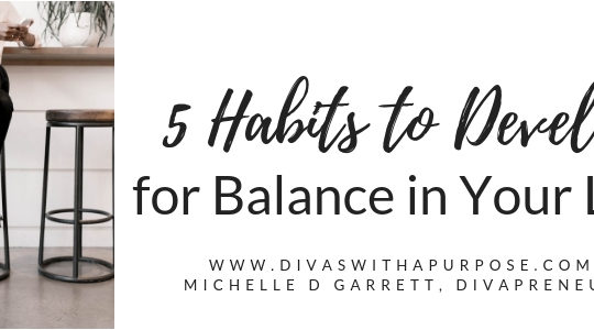 Habits to Develop for Balance