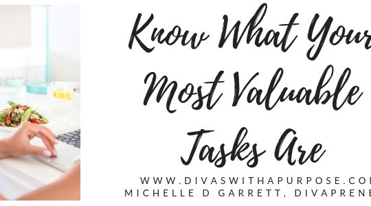 Know What Your Most Valuable Tasks Are