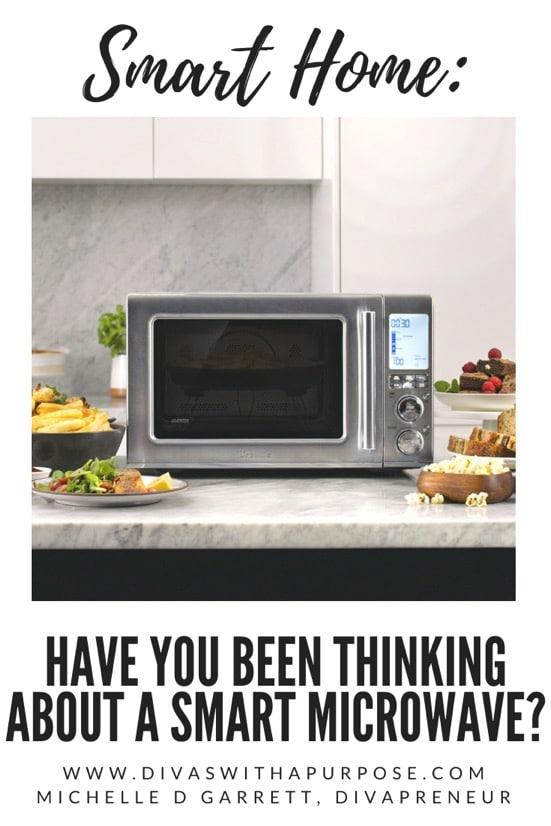 Let's talk about the benefits of adding a smart microwave to your home and smart microwave options to consider for your family. #smarthome #smarttechnology