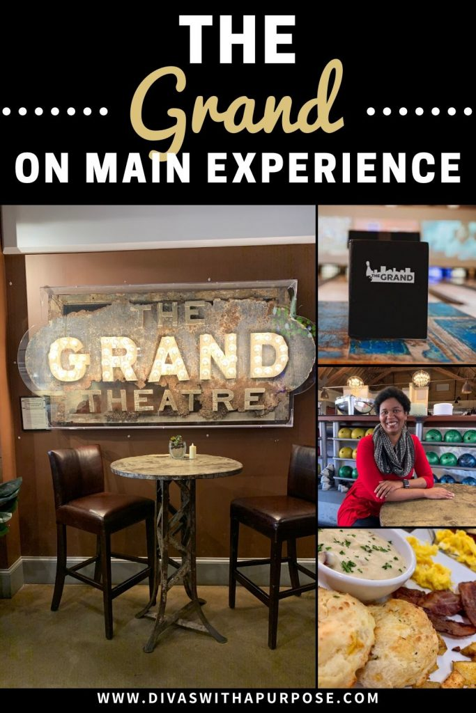 I love when I can combine my favorite things. My first visit to The Grand on Main allowed me to do just that. Great food and conversation with fun people I enjoy spending time with. #cscmommybloggertribe #hosted