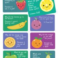 Lunch Box Jokes {Cute Fruit Jokes!}