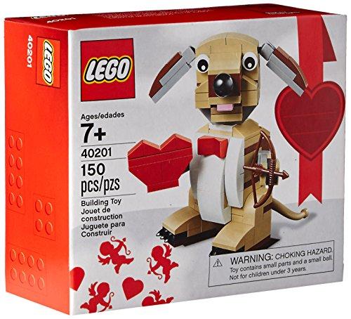 LEGO Bricks & More Valentines Cupid Dog Building Kit