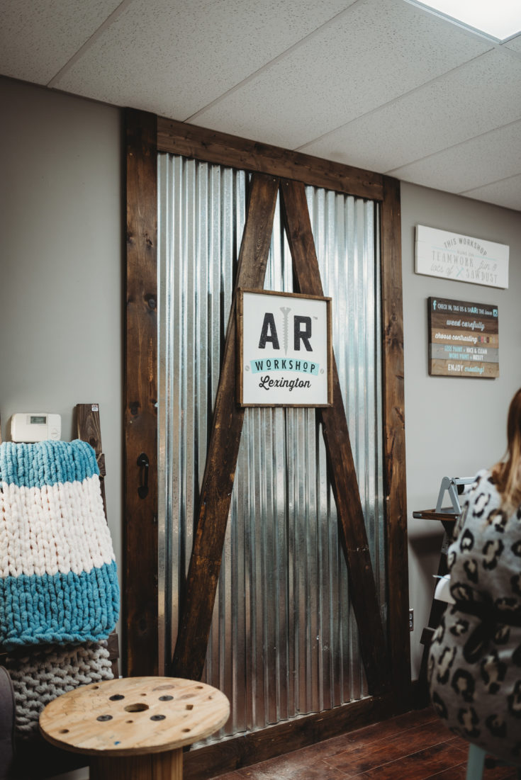 AR Workshop is a boutique do-it-yourself studio that offers hands-on classes for creating custom home decor from raw materials.