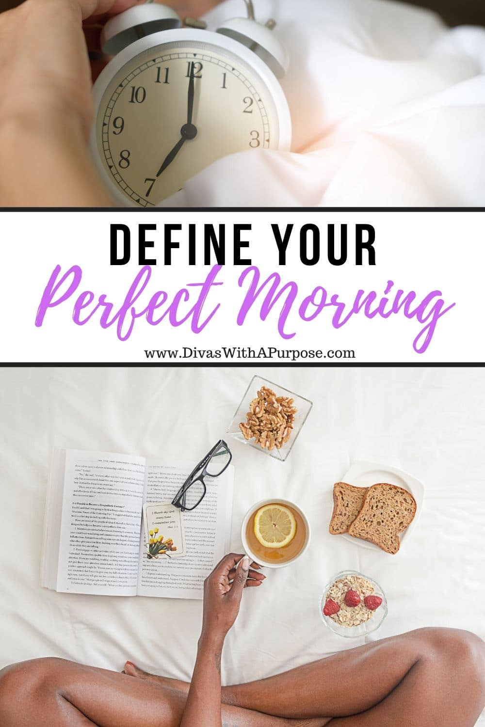 Can you define what the perfect morning would like to you? | #DWPMorningMakeover #MorningRoutine #goodmorning