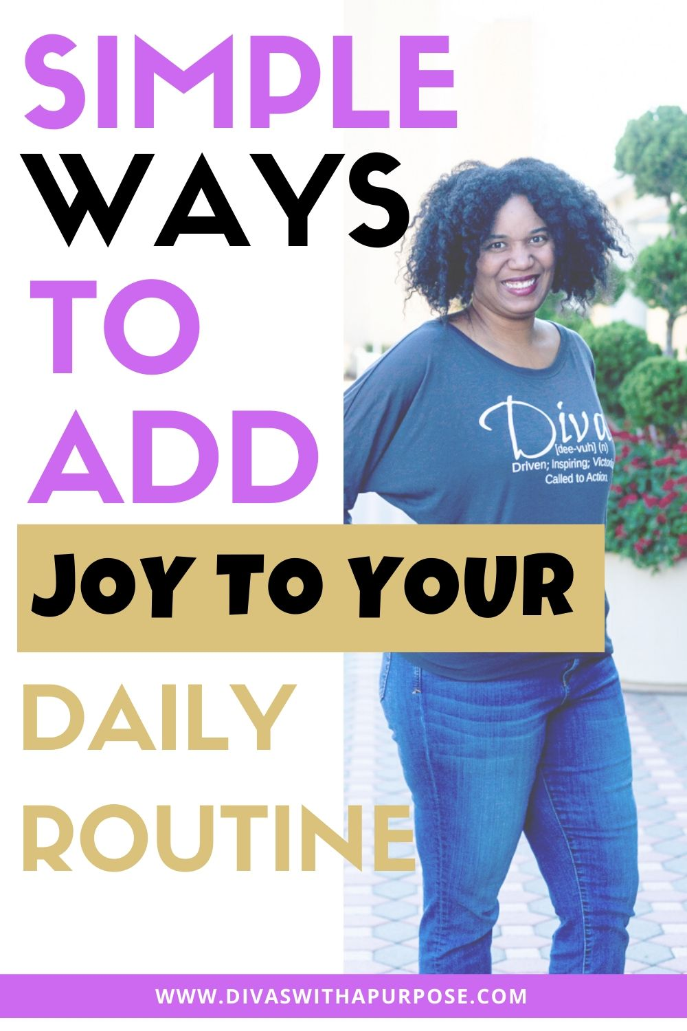 Did you know there are simple ways you can add joy to your daily routine starting today? A lack of joy in your daily life can lead to unhappiness, and it can even have long term negative consequences on your health. #dailyroutines #healthyhabits