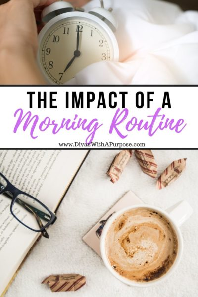 The impact of a morning routine on your day, mood and productivity. | #DWPMorningMakeover #MorningRoutine #goodmorning
