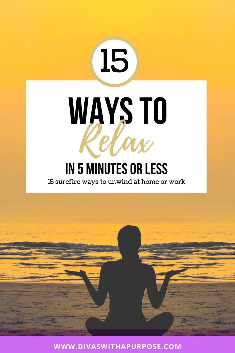 15 ways to relax in 5 minutes or less