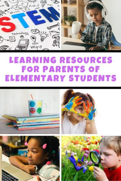 Learning Resources for Parents of Elementary Students