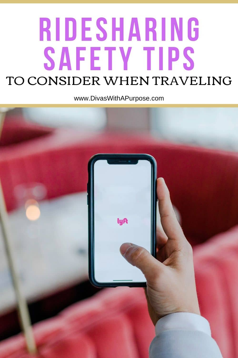 Ridesharing Safety Tips to consider when traveling