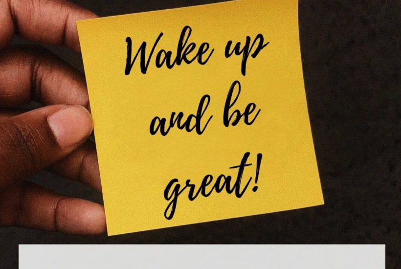 What is your morning game plan that will set you up for success?