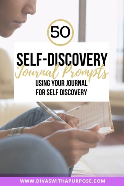 50 Self discovery journal prompts to use on your journey to self discovery and growth