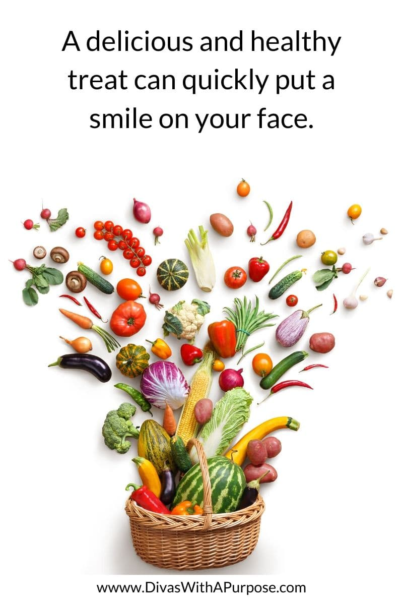 A delicious and healthy treat can quickly put a smile on your face | #selfcare #healthyhabits