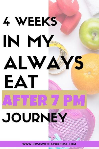Over the last few weeks, I have shared how my Always Eat After 7 PM: The Revolutionary Rule-Breaking Diet That Lets You Enjoy Huge Dinners, Desserts, and Indulgent Snacks—While Burning Fat Overnight by Joel Marion is helping me with some of my current healthy habits goals. | #AD
