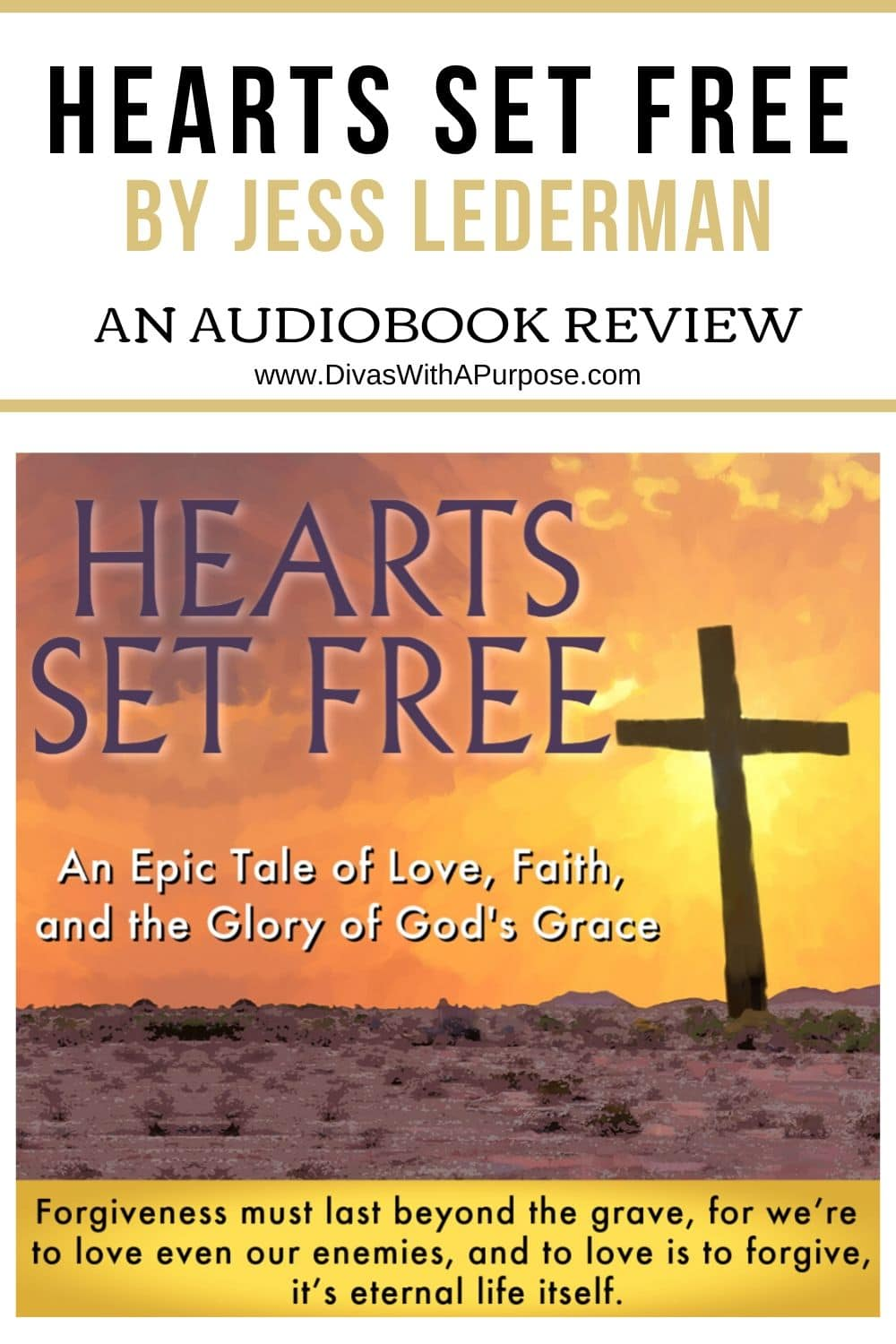 An audiobook review of Hearts Set Free by Jess Lederman