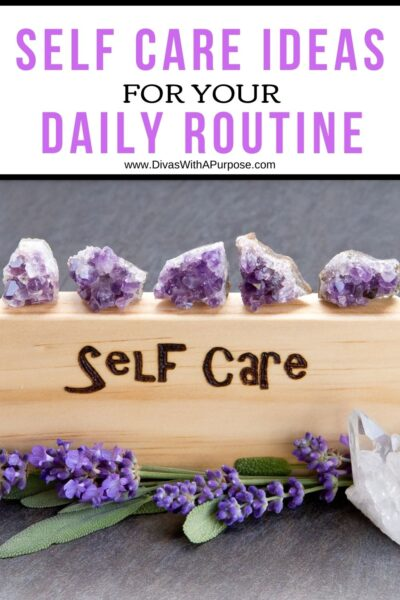 It is vital that you take care of your soul, mind, and body. Studies show adding a self care routine to your daily activities helps reduce stress. You can also reduce your chances of mental and physical ailments.