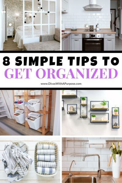 Contrary to popular belief, organized people are not just born that way. They use a variety of tools and methods to help them. Over time it becomes easier to implement what works best for them and their specific needs.
