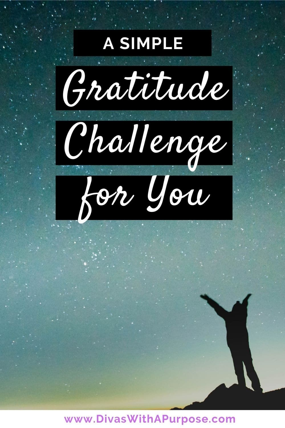 A simple gratitude challenge for you to take on Thankful Thursday (or any day) to focus on gratitude