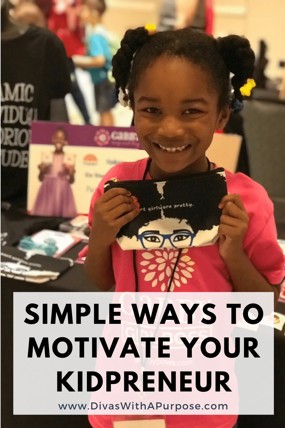 Are you looking for simple ways to motivate your kidpreneur? Often times our young entrepreneurs can get overwhelmed by the demands of running and showing up in their business.