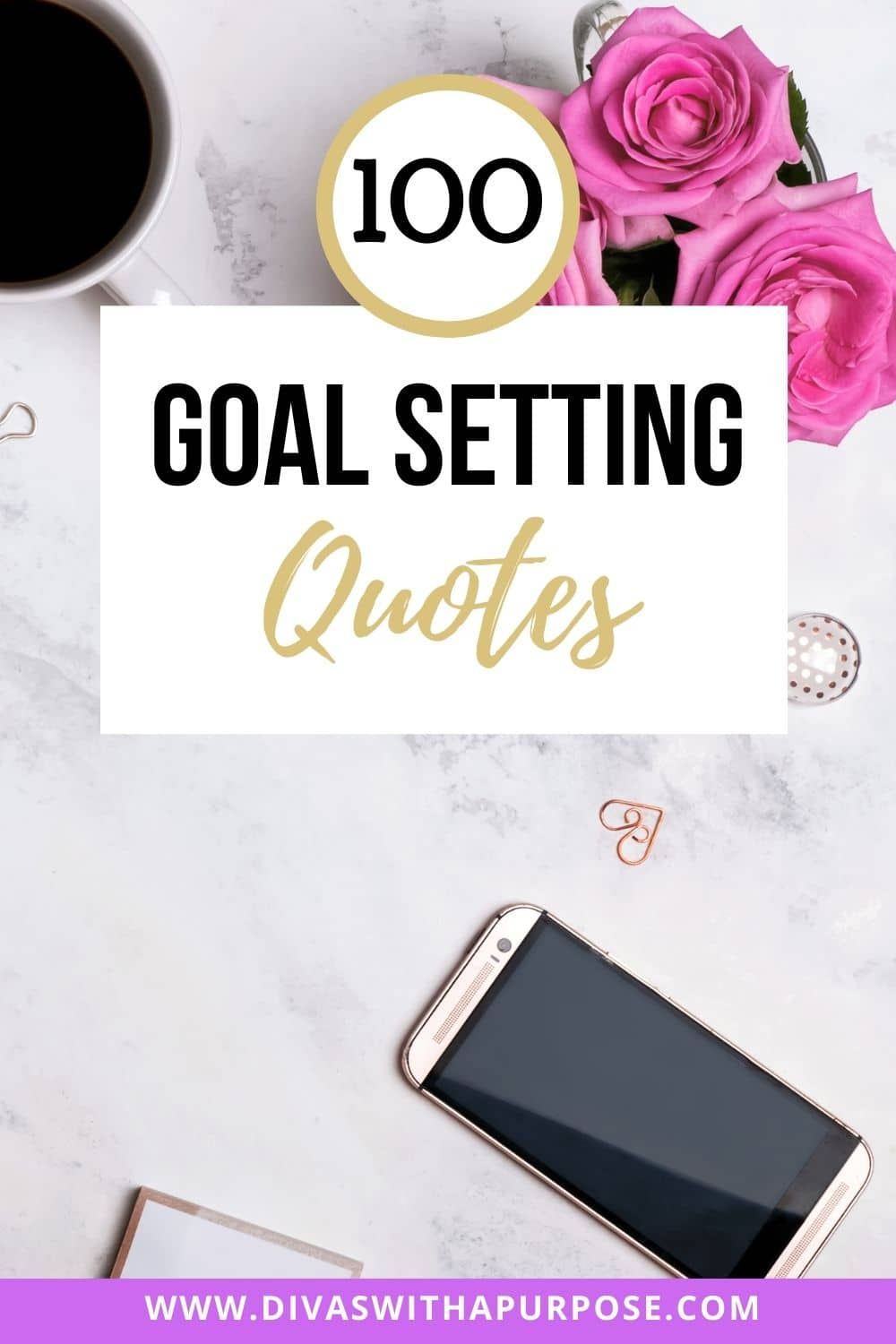 ollection of goal setting quotes is to inspire, motivate and encourage you along your goal-setting journey. #goalsetting #quotes
