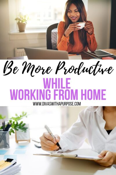 Are you wondering how to be more productive while working from home? It may seem impossible, but where there's a will there's a way. This article includes some tips to focus more on what you can do with the time you have available. #productivity #homebusiness