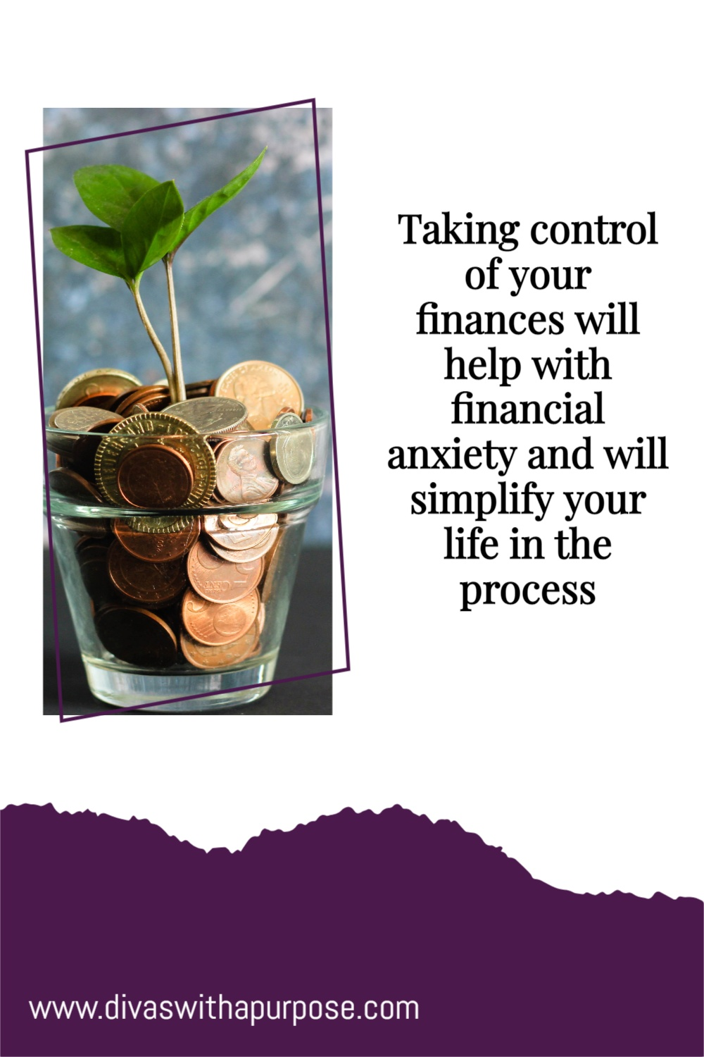Taking control of your finances will help with financial anxiety and will simplify your life in the process